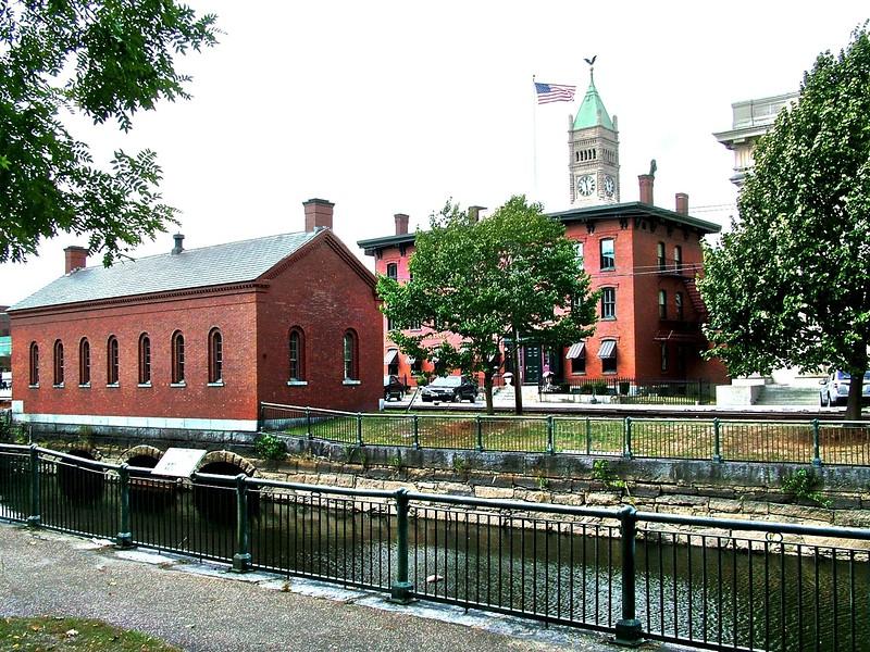 Moody St. Feeder Gatehouse - Lowell, MA