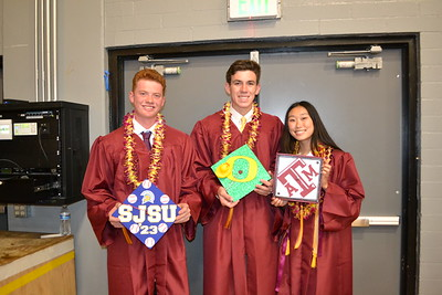 Graduates Honored at LCHS Commencement