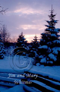 sunset and snow_011