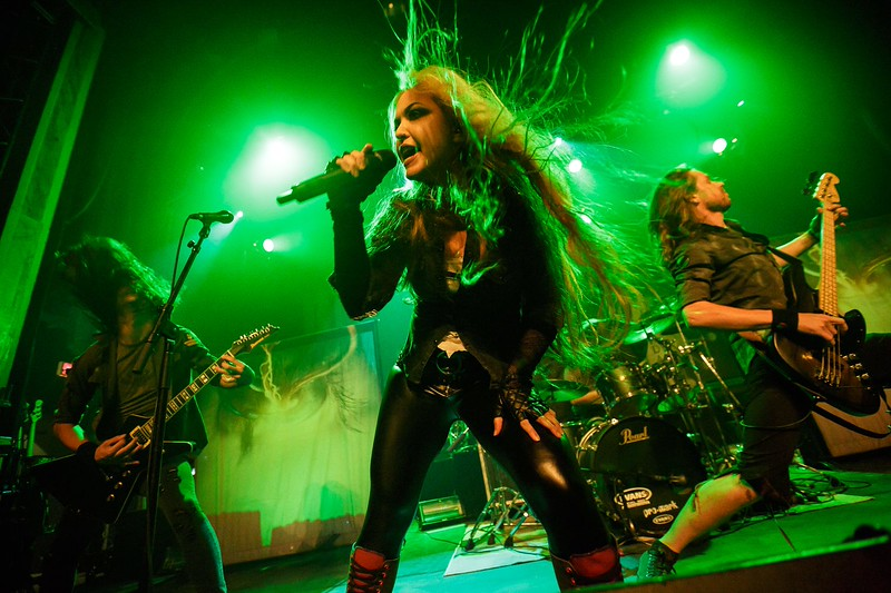 The Agonist @ Corona Theater 2015-09-11