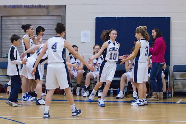 2010-12-10 JV Girls Basketball