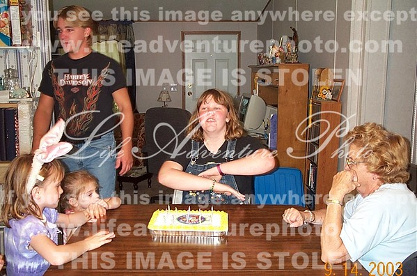 Brittany Birthday Party