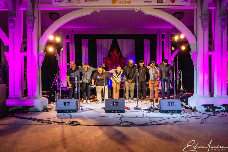 Low Down Brass Band at Markam Jazz 2019
