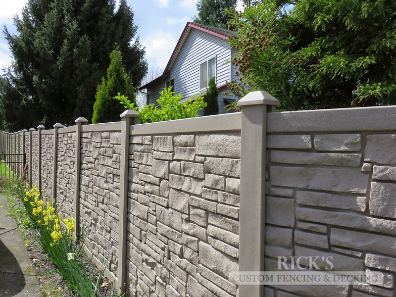 4019 - Allegheny Simulated Rock Fencing
