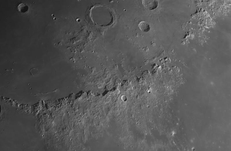 Panorama on Montes Apenninus and Montes Caucasus (Apr 2, 2020)