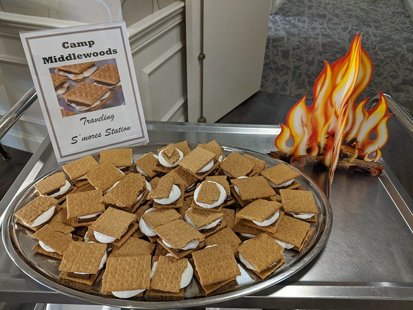 Traveling S'mores Station at Middlewoods of Newington