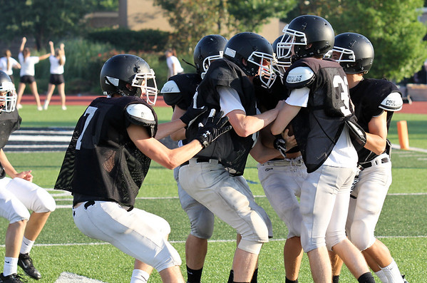 Spring Black and White Football Game