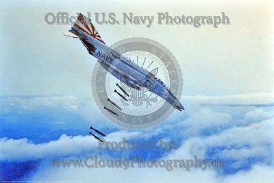 U.S. Navy McDonnell Douglas F-4 Phantom II Ordnance Release Pictures