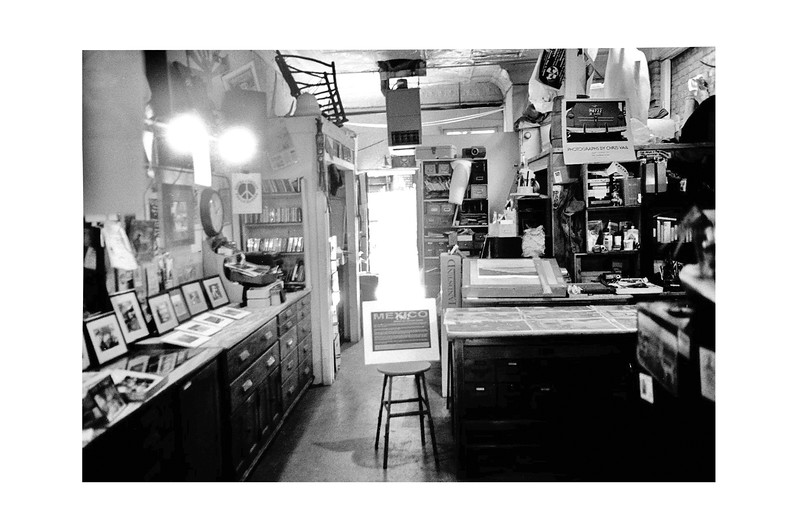 Michael James' Studio/Office at the Heartland Cafe