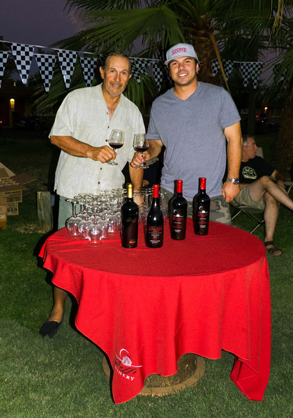 Event sponsors and participants Marcelo Doffo and his son Damian Doffo of Doffo Winery in Temecula, Ca. Their wine is fantastic, and you will never meet a nicer family!  http://www.doffowines.com/