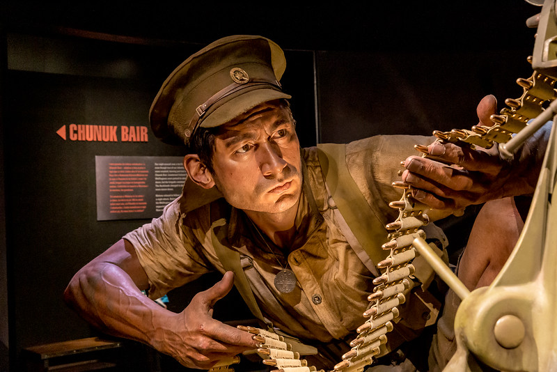 Ausstellung «Gallipoli» im «Te Papa» Museum: miterleben des Krieges anhand von Einzelschicksalen