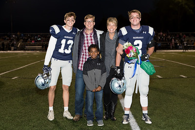 FHS vs. HVA Senior Night Football Families (11-26-18)