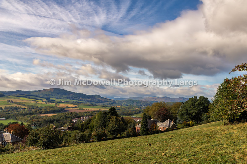 Scottish Hillsides and slopes in Autumn
