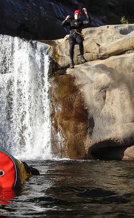 Canyoneering Jump Canyon, June 2013