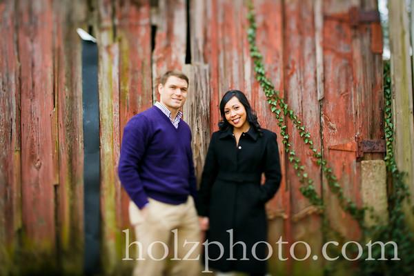 Joanne & Justin Color Engagement Photos
