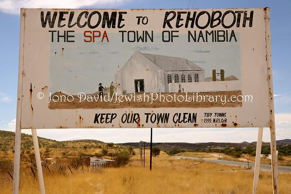 NAMIBIA. Various Biblical-named (Jewish-named) places (2.2013)