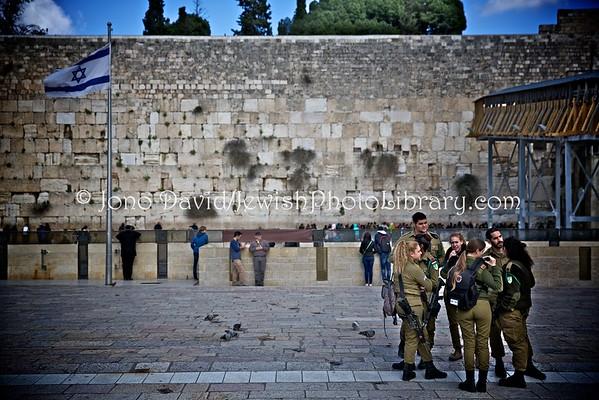 ISRAEL, Jerusalem, Old City, Jewish Quarter. Kotel (Western Wall) (3.2016)