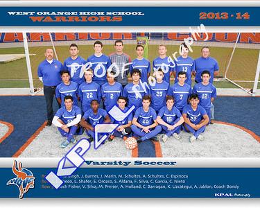 Boys Soccer Team Photos 2014