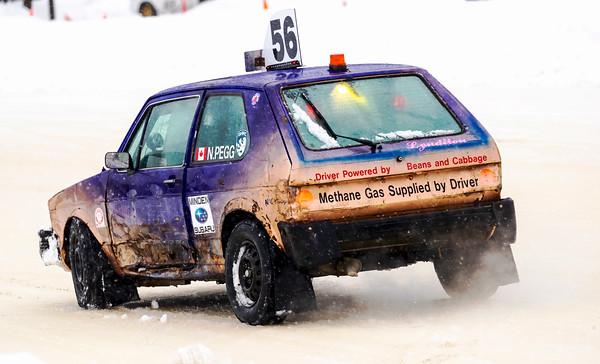 DAC Ice Racing Practice 2