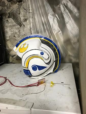 Rey X-wing Pilot Helmet