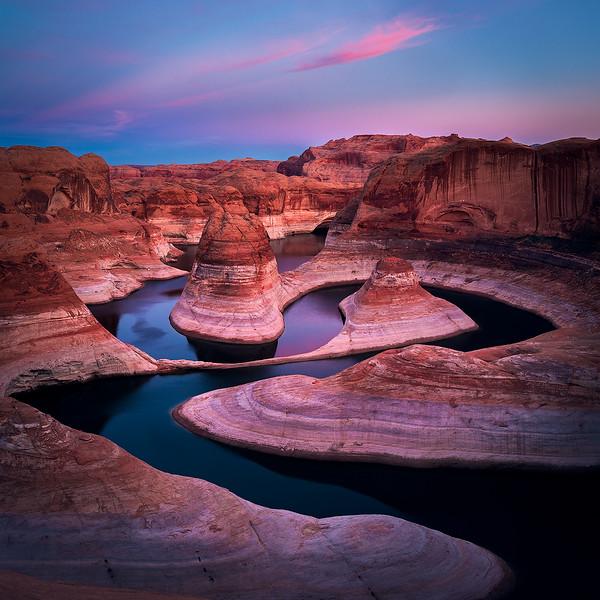 Reflection Canyon Dusk