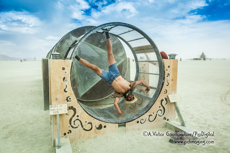 """""""Mirrorrorrim"""" was best experienced (and photographed) at night. But like so much of Burning Man, there just wasn't enough time to see everything. Such is the true dilemma of photographing Burning Man."""