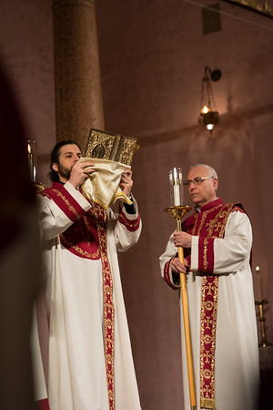 Armenian Christmas Eve at St. Vartan Cathedral, January 5, 2017