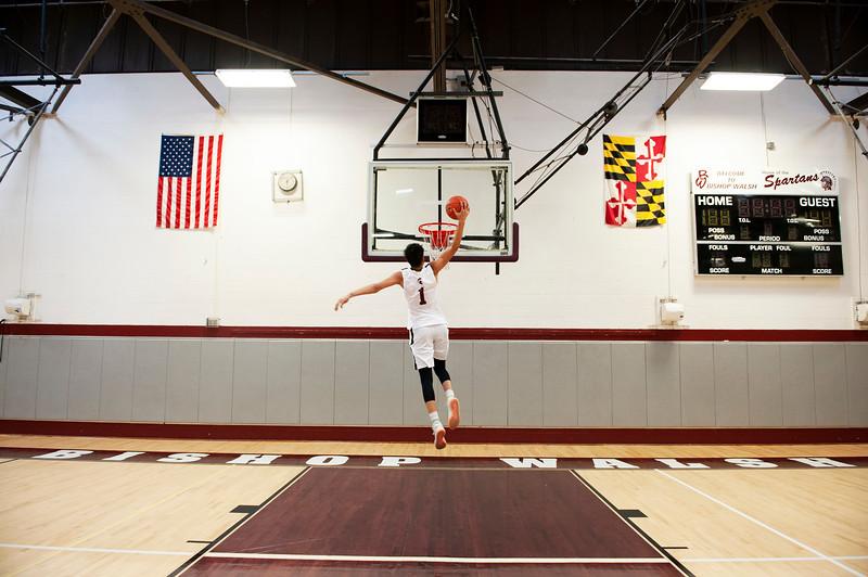 BW Basketball: Ming