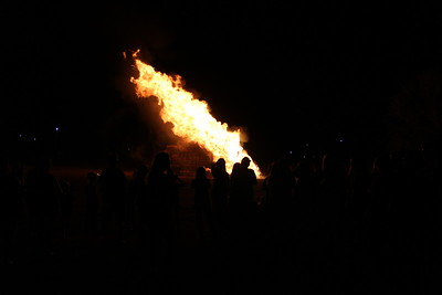 Homecoming: Thursday Night Blessing & Bonfire 2016