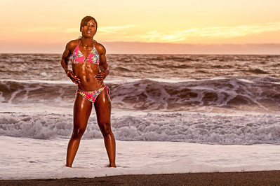 Vanessa at Baker Beach - Edits