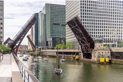 Boat Run Bridge raise May 2021