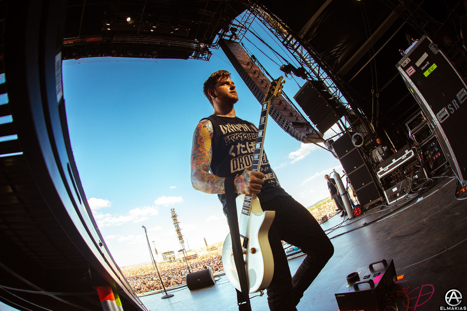 Neil Westfall of A Day To Remember at Rock AM Ring