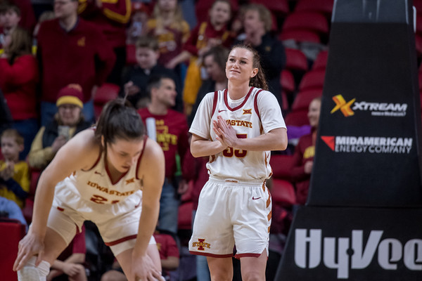 ISU WBB vs KU 03/04/19 (Senior Night)