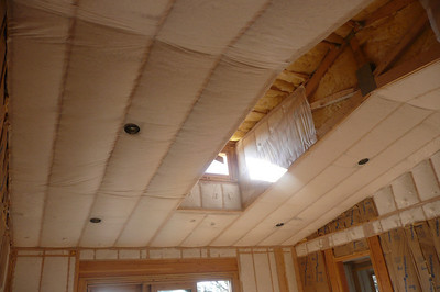 insulation and exterior trim work
