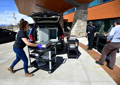 Photos: Wayne's BBQ Shack in Superior Donating Meals to Local Hospital Workers During COVID-19 Pandemic