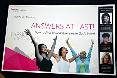 Inspire Women Spring Conference Feb 23, 2013