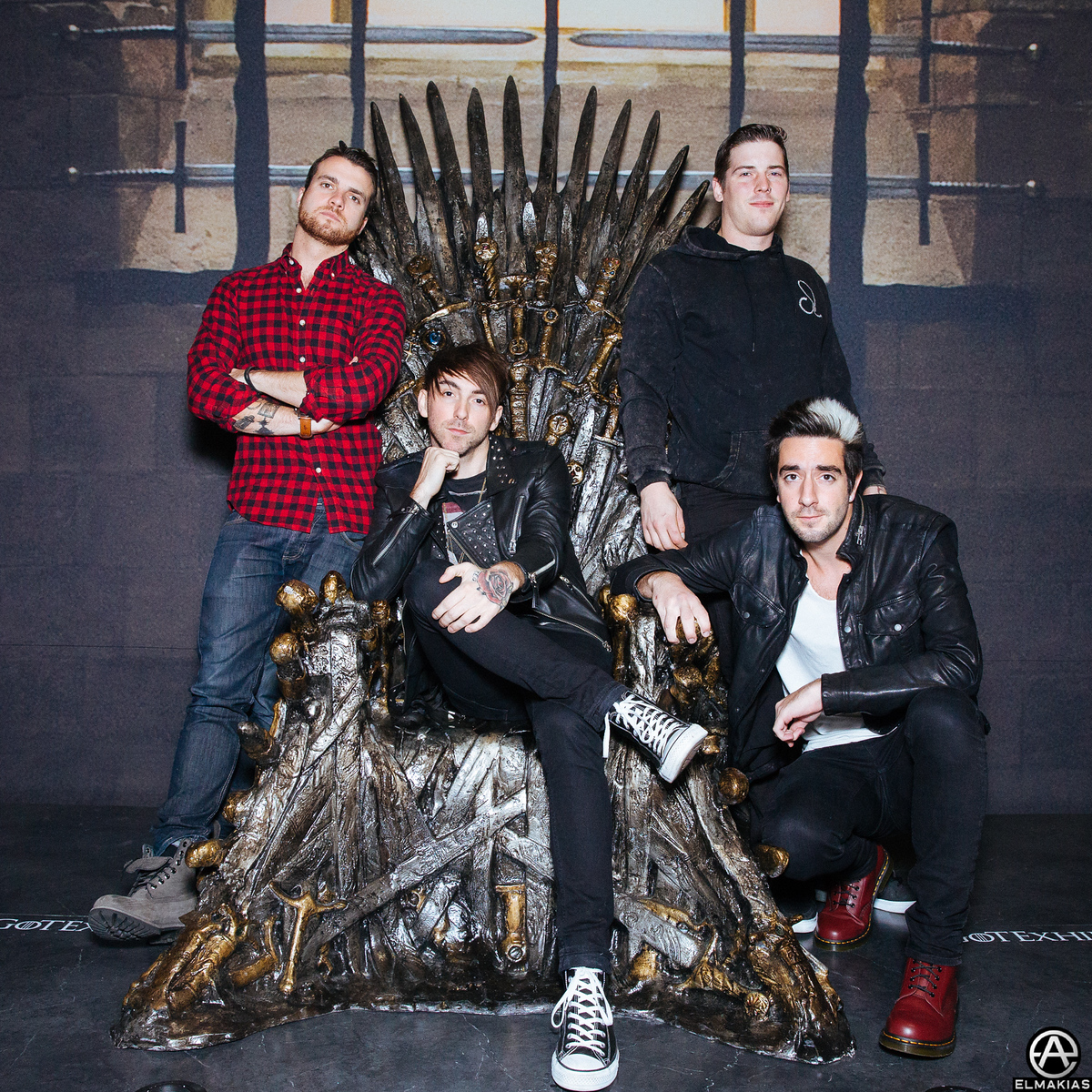 All Time Low at the Game Of Thrones