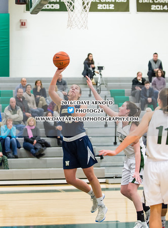 12/13/2016 - Girls Varsity Basketball - Needham vs Westwood