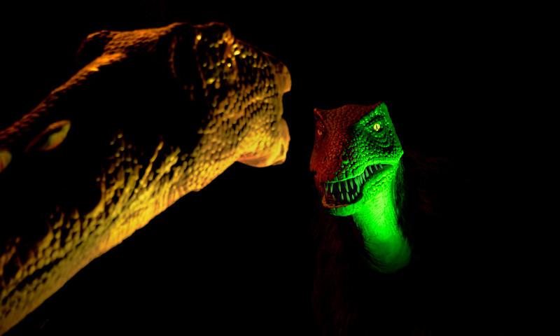 Dino heads