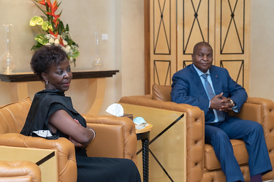 SEM Faustin-Archange TOUADERA Président RCA - Congo Brazzaville