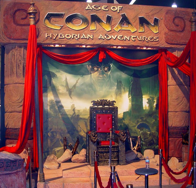 Age of Conan throne