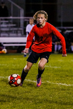 WCHS  Boys Soccer Playoff Game vs. Liberty Union