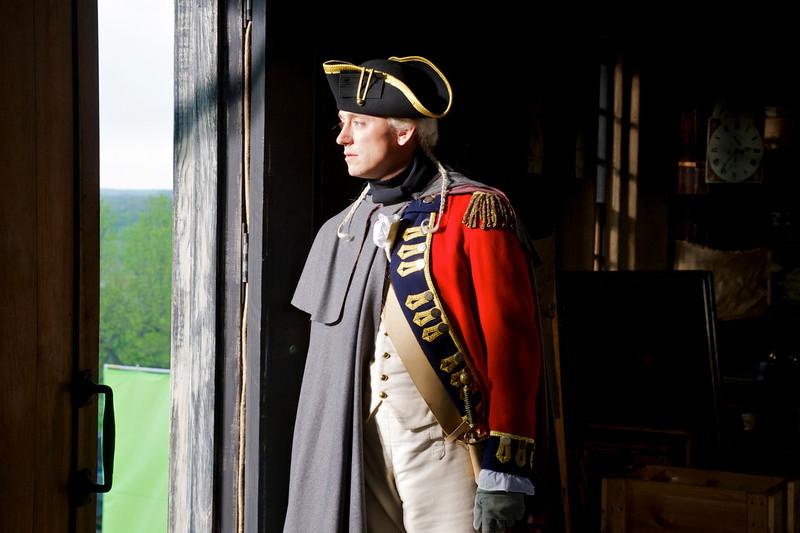 """. JJ Field as John Andre in \""""Turn\"""" Season 1, Episode 1 (Photo by Antony Platt/AMC)"""