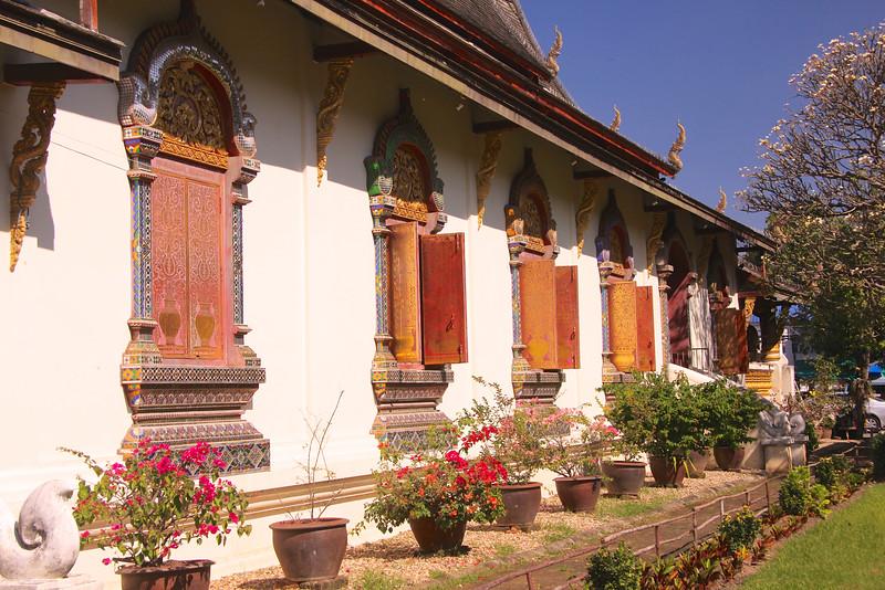 The Viharn (Assembly hall) at Wat Chiang Man - Chiang Mai
