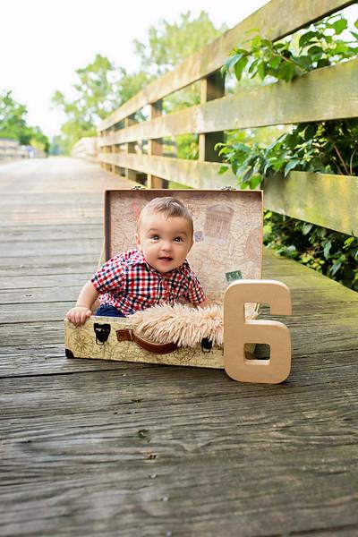 Colton 6 Month Milestone