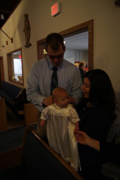 Zyliak Baptism