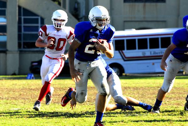 Junior Prep Football vs Liberty Christian Academy