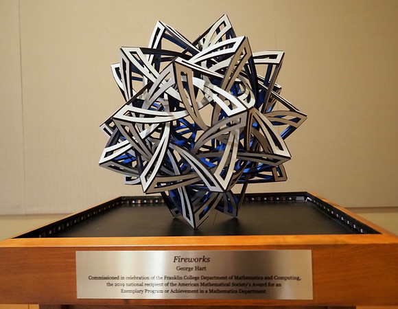 210318-Franklin College  Sculpture Reveal