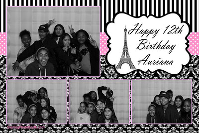 Auriana's 12th Birthday