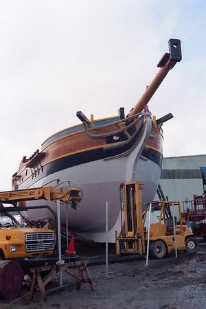 Lady Washington Launch 1989